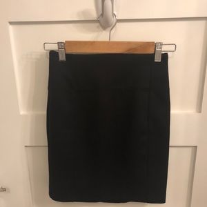 Lululemon (never worn) pencil skirt